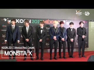 [VK][28.03.2017][KCON 2017 MEXICO x M2] 몬스타엑스(MONSTA X) RedCarpet