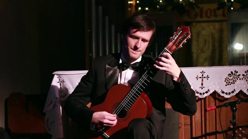 Jobim - A Felicidade, guitar arr. R. Dyens (performed by Pavel Kukhta)(1) » Freewka.com - Смотреть онлайн в хорощем качестве