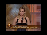 Renee Zellweger Wins Best Supporting Actress Motion Picture - Golden Globes 2004