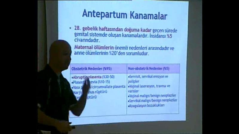 ANTEPARTUM KANAMALAR
