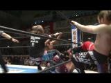 Chase Owens, Kenny Omega, Yujiro Takahashi vs. Beretta, Tomohiro Ishii, Toru Yano (NJPW - Road To Sakura Genesis 2017 - Day 2)