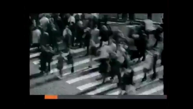 Рекламная заставка (ОРТ-Первый канал, 24.09.2001-31.08.2003) Пешеходный переход