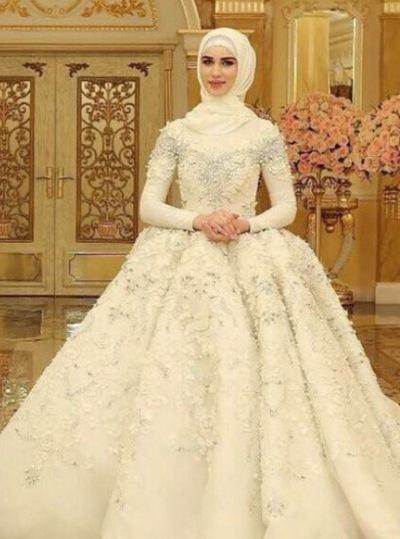 974b177897a4656 Мусульманские свадебные платья под хиджаб,прокат | ВКонтакте