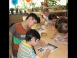 А еще в нашей библиотеке собираются любители кроссвордов.