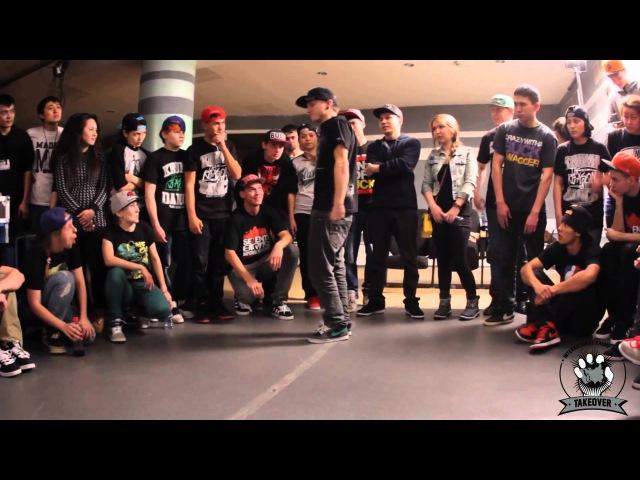 J Slam aka Twin Hatplayer vs Uglyfate aka BadRip X | Boyz Final | TAKEOVER 3