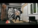 Виктор Блуд - Работа Со Штангой С Больной Рукой