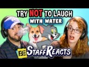 Try to Watch This Without Laughing or Grinning WITH WATER 3 (ft. FBE STAFF)
