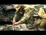 Чечня. Подбитый танк, Август 1996 год