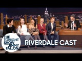 The Cast of Riverdale Gives Jimmy Fallon His Own Jughead Crown