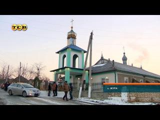 В селе Жура завершилось строительство колокольни