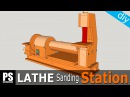 Lathe Sanding Station: Belt Sander Part1