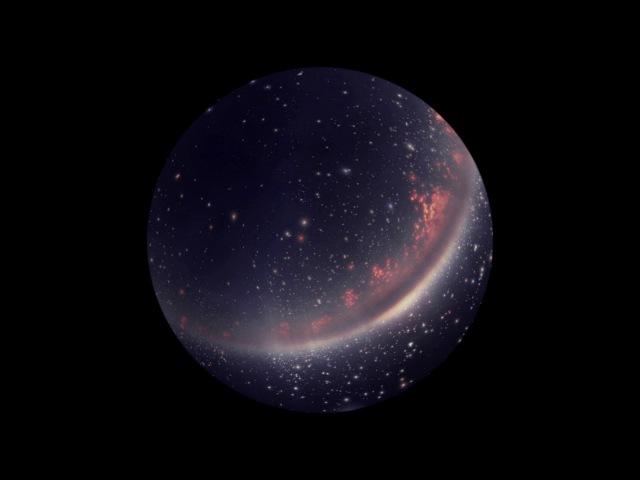 Кокон темной материи окутал Землю