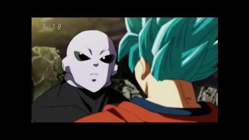 SSJ Blue Goku vs Jiren (Goku Gets Humiliated) - Dragon Ball Super Episode 109 HD