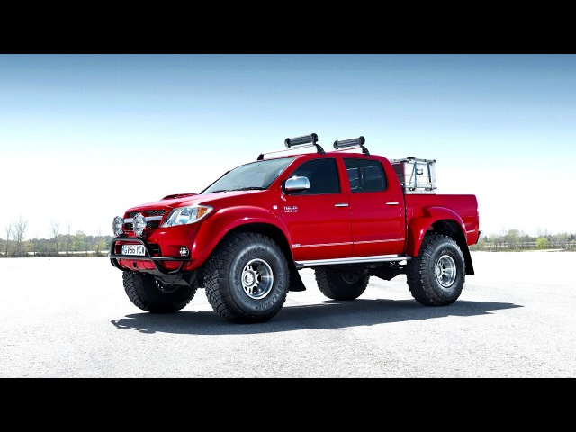 Arctic Trucks Toyota Hilux Invincible AT38 2007