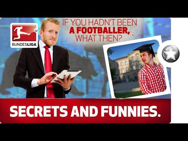 Schürrle the Broker Müller the Reporter The Alternative Jobs of the Bundesliga's Stars