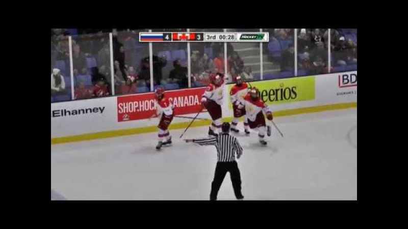 Nov 07, 2017 WHC-17: Russia 3-4 Canada Red