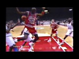 Michael Jordan Missed Free Throw Dunk vs W. Bullets! Where Did He Come From?
