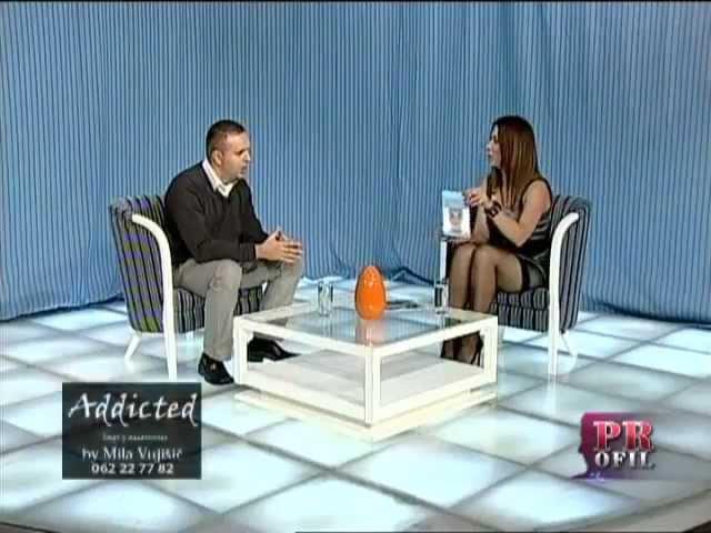 TV KCN - Emisija Profil (Jadranka Jevtic) - gost Marko Burazor (Neverbalna komunikacija)