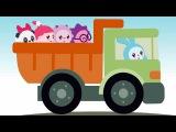 Транспорт - Малышарики Умные песенки - обучающие и развивающие мультики про маш ...