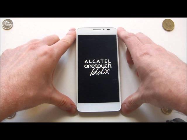 Alcatel One Touch Idol X, предварительный обзор