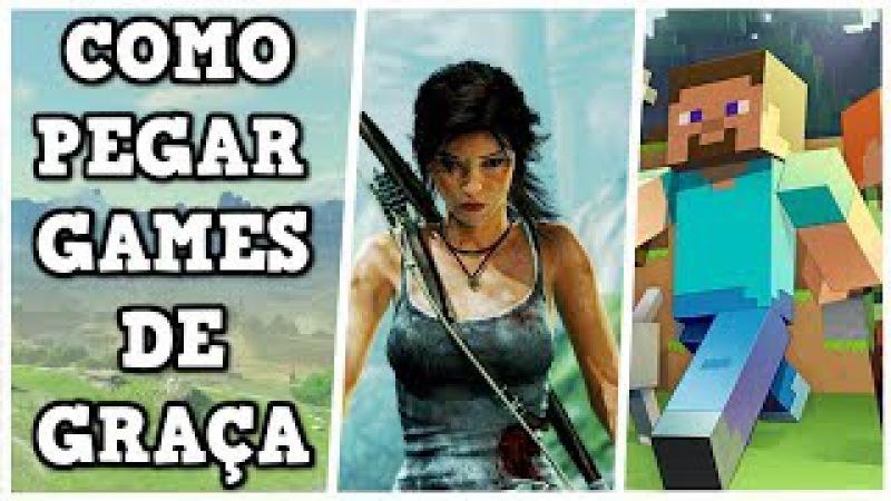 COMO CONSEGUIR GAMES DE GRAÇA