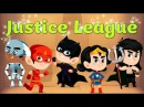 Justice League Finger family rhymes for children Kids Songs