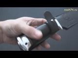 Нож Горностай (Наборная кожа, ЭИ-107) - nozh74.ru