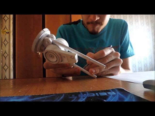 1 руки терминатор арм, эндоскелет. pepakura papercraft 1 часть