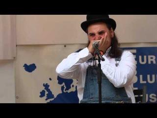Banjo Jamboree 2014 - Matěj Ptaszek a Dobré ráno blues band (In The Pines)