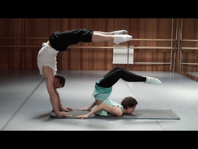 Балерина VS Эквилибрист ТРЕНИРОВКА КОРСЕТНЫХ МЫШЦ Спина пресс руки