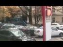 Огнедышащий трактор проехал по цетральной улице Ставрополя