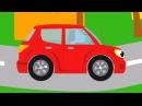 Развивающие песни для детей - Бип Бип! Мультики про машинки - Учим цвета и животных
