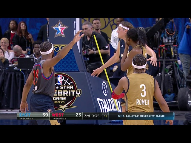 Mannequin Challenge at the Celebrity All-Star Game! | 02.17.17 NBANews NBAAllStar NBA