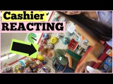 Cashier's Reaction To Buying Odd Things