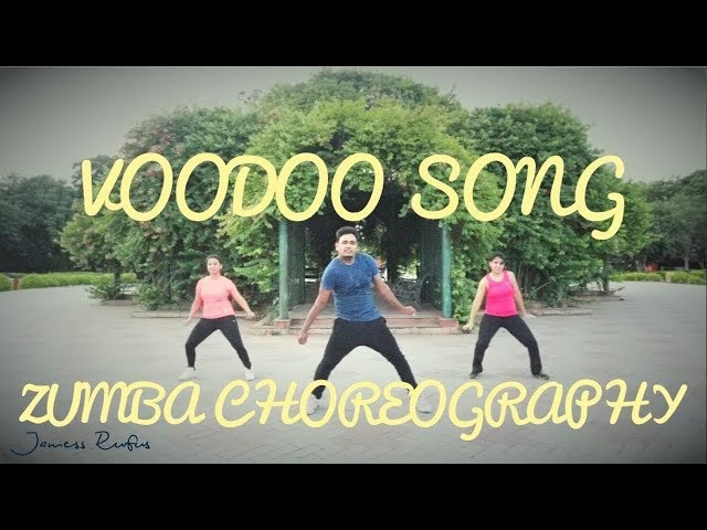 Voodoo Song - Willy William | Zumba Choreography | JAMESS RUFUS