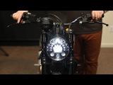 Ducati Scrambler LED Headlight Conversion Installation