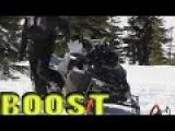 Ski-Doo Turbo Blows Belt on BIG Climb