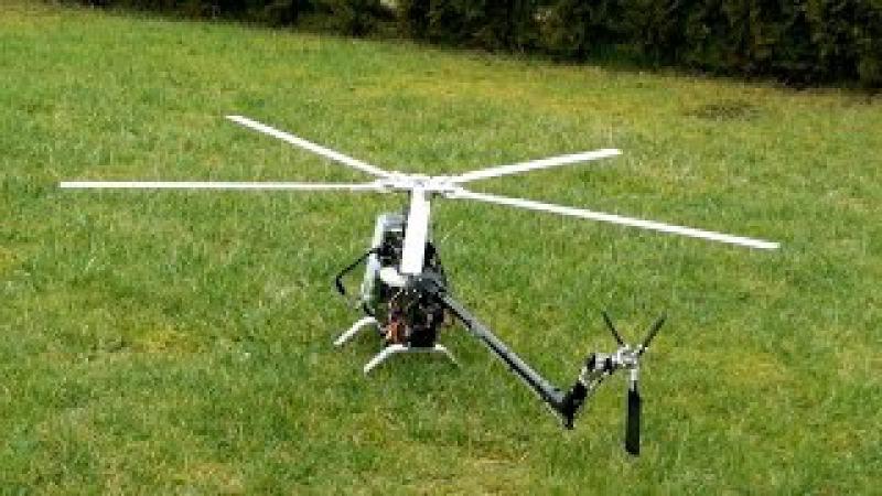 Teil 9 RC Projekt Mil Mi-24 Hind , Die Mechanik fliegt Hammer... 7s2p LiFePo4 A123 *1080p50fpsHD*