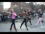 Video#1348 Washington Square Park Ballerina Dancing Pt 2
