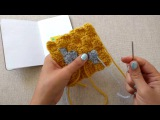 How to Weave in Ends on C2C Crochet