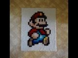 Mario Pixel Blanket (c2c Afghan)