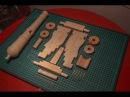 Пушка из дерева своими руками Часть 1 Изготовление лафета