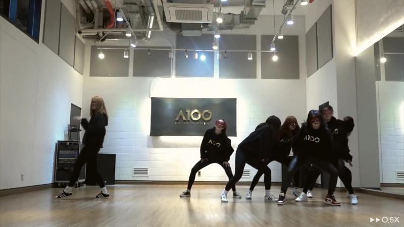2017.03.31 A100 Entertainment First Project — PRACTICE FOUR (방탄소년단 (BTS) — 피땀눈물 2배속⁄0.5배속)