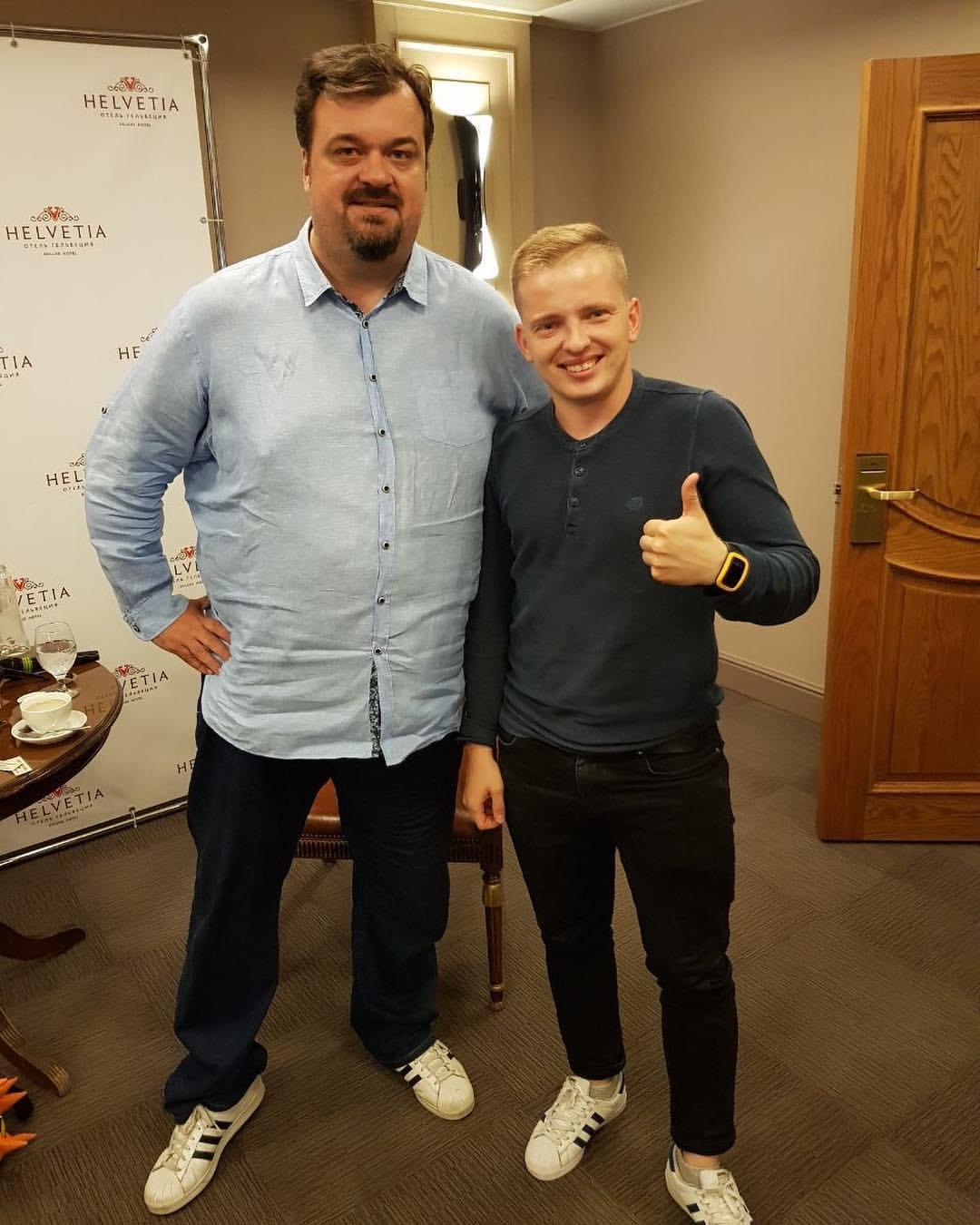 Василий Уткин и Павел Кутузов