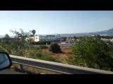 Road to the San Juan beach