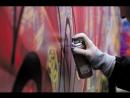 Граффити- батл уличных художников в Екатеринбурге