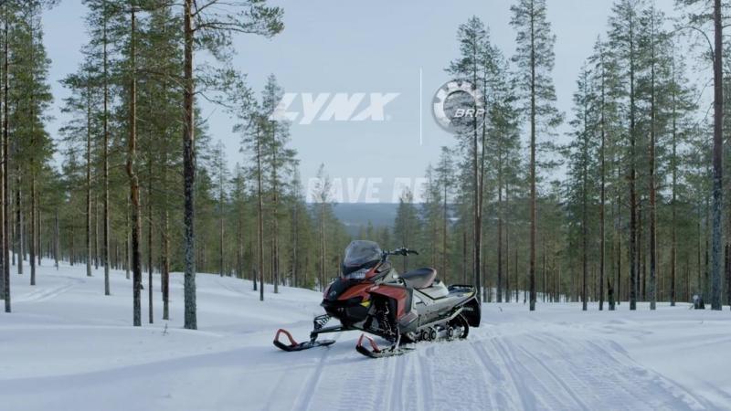 LYNX RAVE RE 850 E-TEC   Lineup 2018
