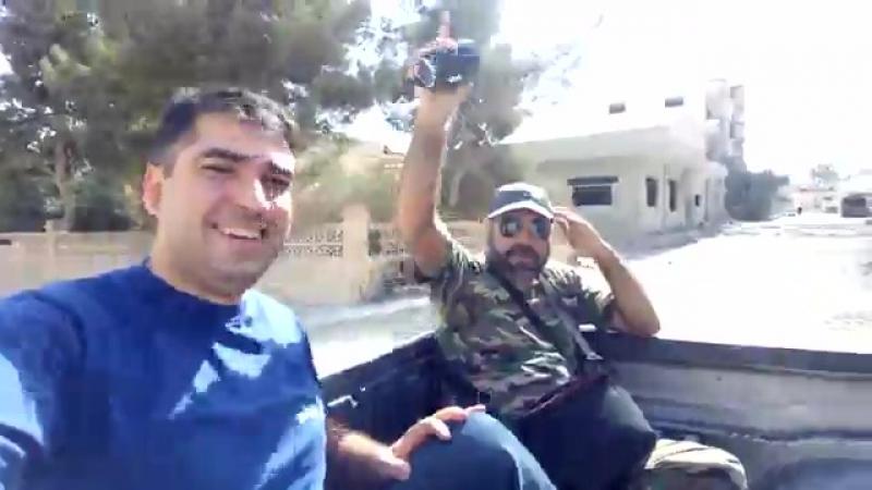 В городе аль-Карьятейн в юго-восточной местности провинции Хомс после того как армия восстановила контроль в нем