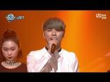 Shin Gi Won - Slow Down @ M! Countdown 170126