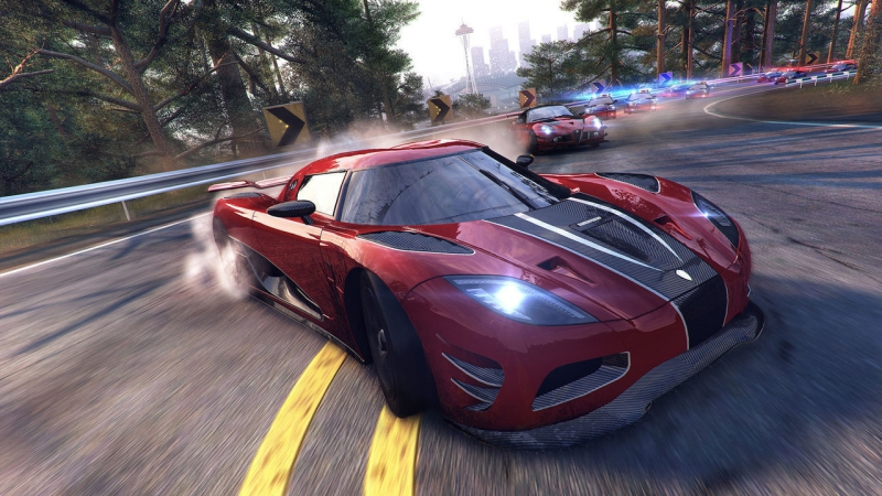 The Crew Calling All Units - pursuit on Agera R